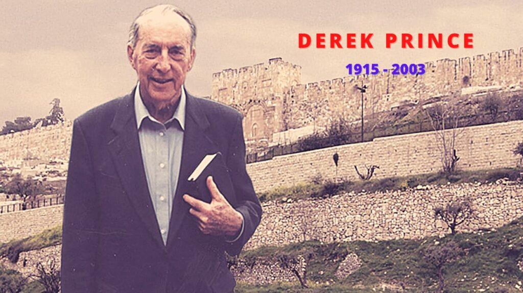 Derek Prince, el hombre espiritual, el evangelio de Dios, oremos, sentaos, andad, estad firmes, deseando de DIos, francis